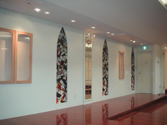 コンサートホール改装ステンドグラス