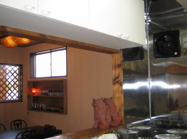 店舗改装キッチン
