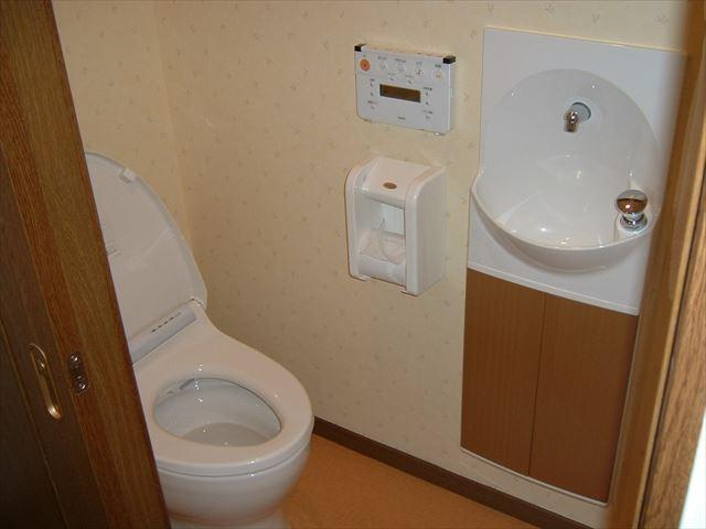 増築トイレ