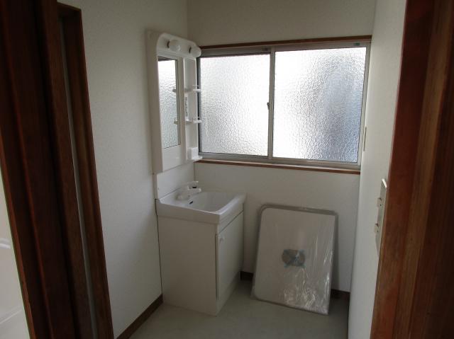 三島市 借家洗面台リフォーム