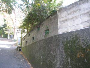 地震対策でブロック塀改修工事