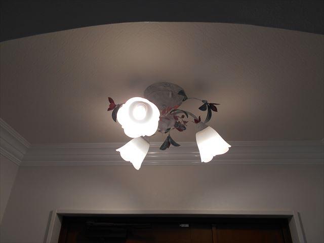 清水町リフォーム 玄関照明器具