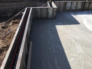長泉町下長窪マイホーム注文住宅 立上り枠セット コンクリート打ち
