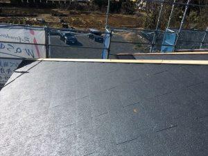 長泉町新築コロニアル屋根板金下地