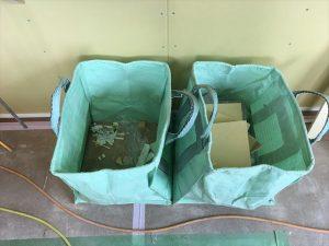長泉町 下長窪マイホーム新築注文住宅  残材料はしっかり分別して処理します