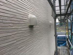 長泉町 下長窪マイホーム新築注文住宅  外壁サイディングから換気フードがみえます