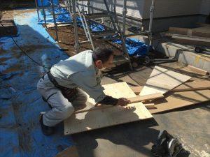 長泉町 下長窪マイホーム新築注文住宅  原寸で仮に造ります