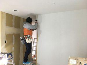 長泉町 下長窪マイホーム新築注文住宅 内装とエアコン取付です