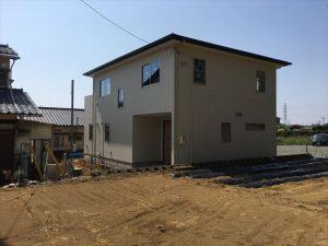 長泉町 下長窪マイホーム新築注文住宅 駐車場コンクリート打ち始まります