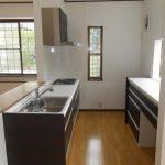 沼津市で間取りを変えて開放的なキッチンへ
