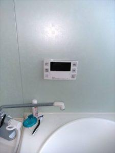 リンナイ給湯器交換 浴室リモコン交換