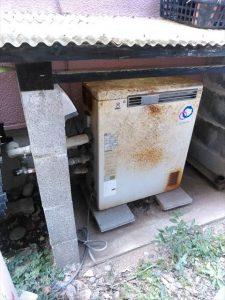 函南町仁田で給湯器の電源を入れてもすぐ消えるとお問い合わせがありました