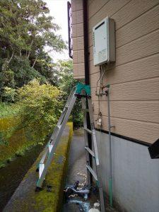 御殿場市川島田でノーリツ製エコジョーズ給湯器に交換