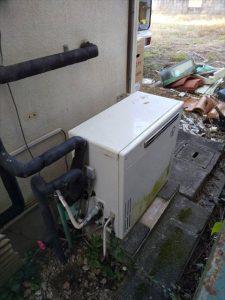 沼津市大平でリンナイ製給湯器に交換