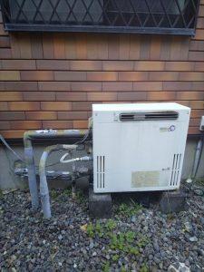 沼津市下香貫でノーリツ製エコジョーズの給湯器に交換