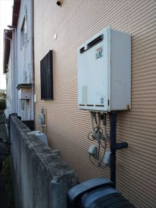 沼津市若葉町でリンナイ製の給湯器に交換