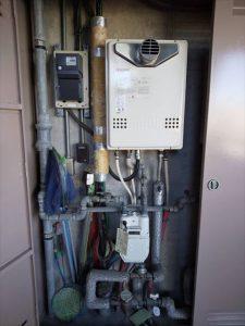 三島市長伏でノーリツ製給湯器に交換