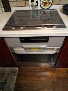 沼津市でIHとオーブンを交換させていただきました