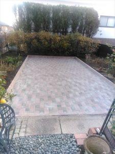 三島市でお手入れしやすいお庭にデザイン施工しました
