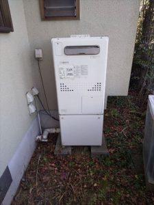 長泉町東野でノーリツ製エコジョーズ給湯器に交換