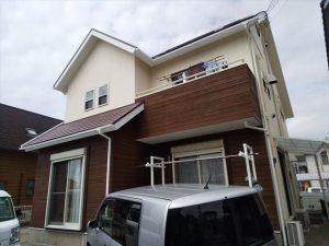 沼津市で屋根裏部屋・テラス・外壁塗装をしました