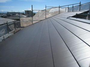 沼津市でカラーベスト屋根から雨漏りカバー工法で解決!