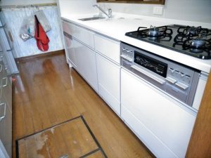 沼津市で古くなったキッチンを使いやすいキッチンに