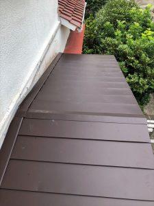 沼津市で傷んできた屋根を一新して雨漏りから解放されました